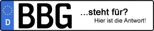 Wofür steht das Kfz-Kennzeichen BBG? | Kfz-Kennzeichen - AUTOPURISTEN.net