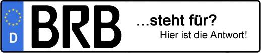 Wofür steht das Kfz-Kennzeichen BRB? | Kfz-Kennzeichen - AUTOPURISTEN.net