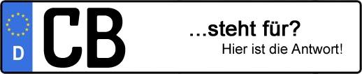 Wofür steht das Kfz-Kennzeichen CB? | Kfz-Kennzeichen - AUTOPURISTEN.net