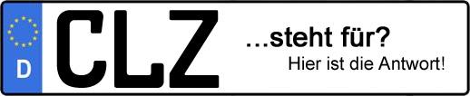 Wofür steht das Kfz-Kennzeichen CLZ? | Kfz-Kennzeichen - AUTOPURISTEN.net