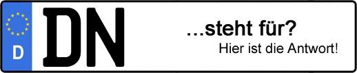 Wofür steht das Kfz-Kennzeichen DN? | Kfz-Kennzeichen - AUTOPURISTEN.net
