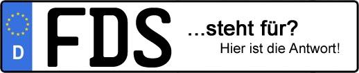 Wofür steht das Kfz-Kennzeichen FDS? | Kfz-Kennzeichen - AUTOPURISTEN.net