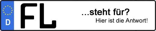 Wofür steht das Kfz-Kennzeichen FL? | Kfz-Kennzeichen - AUTOPURISTEN.net
