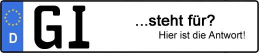 Wofür steht das Kfz-Kennzeichen GI? | Kfz-Kennzeichen - AUTOPURISTEN.net