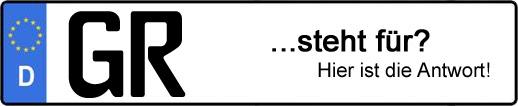 Wofür steht das Kfz-Kennzeichen GR? | Kfz-Kennzeichen - AUTOPURISTEN.net