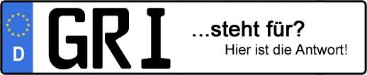 Wofür steht das Kfz-Kennzeichen GRI? | Kfz-Kennzeichen - AUTOPURISTEN.net