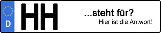 Wofür steht das Kfz-Kennzeichen HH? | Kfz-Kennzeichen - AUTOPURISTEN.net