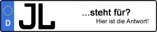 Wofür steht das Kfz-Kennzeichen JL? | Kfz-Kennzeichen - AUTOPURISTEN.net