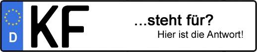 Wofür steht das Kfz-Kennzeichen KF? | Kfz-Kennzeichen - AUTOPURISTEN.net