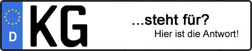 Wofür steht das Kfz-Kennzeichen KG? | Kfz-Kennzeichen - AUTOPURISTEN.net