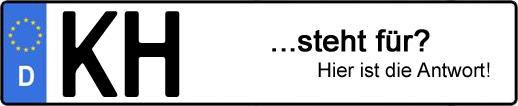 Wofür steht das Kfz-Kennzeichen KH? | Kfz-Kennzeichen - AUTOPURISTEN.net
