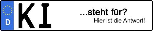 Wofür steht das Kfz-Kennzeichen KI? | Kfz-Kennzeichen - AUTOPURISTEN.net
