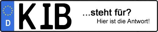 Wofür steht das Kfz-Kennzeichen KIB? | Kfz-Kennzeichen - AUTOPURISTEN.net