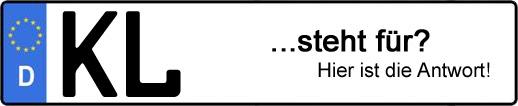 Wofür steht das Kfz-Kennzeichen KL? | Kfz-Kennzeichen - AUTOPURISTEN.net