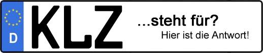 Wofür steht das Kfz-Kennzeichen KLZ? | Kfz-Kennzeichen - AUTOPURISTEN.net