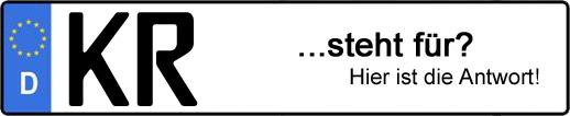 Wofür steht das Kfz-Kennzeichen KR? | Kfz-Kennzeichen - AUTOPURISTEN.net