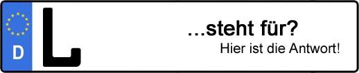 Wofür steht das Kfz-Kennzeichen L? | Kfz-Kennzeichen - AUTOPURISTEN.net