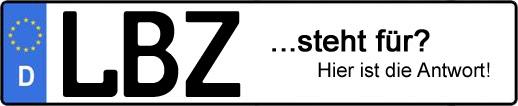 Wofür steht das Kfz-Kennzeichen LBZ? | Kfz-Kennzeichen - AUTOPURISTEN.net