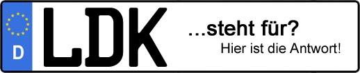 Wofür steht das Kfz-Kennzeichen LDK? | Kfz-Kennzeichen - AUTOPURISTEN.net