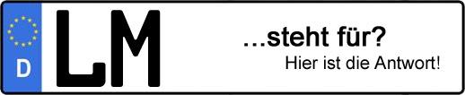 Wofür steht das Kfz-Kennzeichen LM? | Kfz-Kennzeichen - AUTOPURISTEN.net