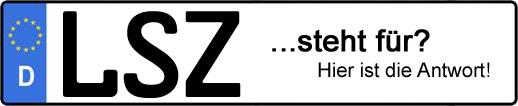 Wofür steht das Kfz-Kennzeichen LSZ? | Kfz-Kennzeichen - AUTOPURISTEN.net