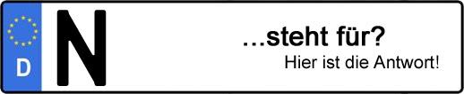 Wofür steht das Kfz-Kennzeichen N? | Kfz-Kennzeichen - AUTOPURISTEN.net