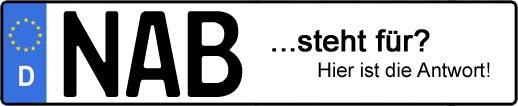 Wofür steht das Kfz-Kennzeichen NAB? | Kfz-Kennzeichen - AUTOPURISTEN.net