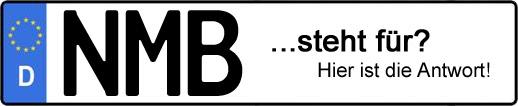 Wofür steht das Kfz-Kennzeichen NMB?   Kfz-Kennzeichen - AUTOPURISTEN.net