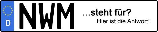 Wofür steht das Kfz-Kennzeichen NWM?   Kfz-Kennzeichen - AUTOPURISTEN.net