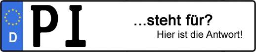 Wofür steht das Kfz-Kennzeichen PI? | Kfz-Kennzeichen - AUTOPURISTEN.net