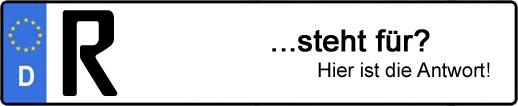 Wofür steht das Kfz-Kennzeichen R? | Kfz-Kennzeichen - AUTOPURISTEN.net