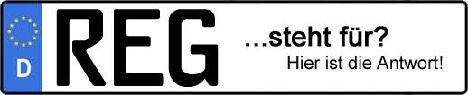 Wofür steht das Kfz-Kennzeichen REG?   Kfz-Kennzeichen - AUTOPURISTEN.net