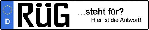 Wofür steht das Kfz-Kennzeichen RÜG?   Kfz-Kennzeichen - AUTOPURISTEN.net