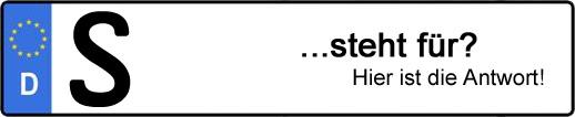 Wofür steht das Kfz-Kennzeichen S? | Kfz-Kennzeichen - AUTOPURISTEN.net