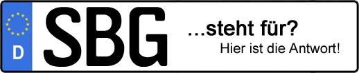 Wofür steht das Kfz-Kennzeichen SBG? | Kfz-Kennzeichen - AUTOPURISTEN.net