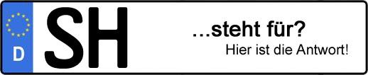 Wofür steht das Kfz-Kennzeichen SH? | Kfz-Kennzeichen - AUTOPURISTEN.net