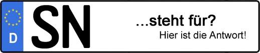 Wofür steht das Kfz-Kennzeichen SN? | Kfz-Kennzeichen - AUTOPURISTEN.net