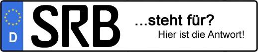 Wofür steht das Kfz-Kennzeichen SRB? | Kfz-Kennzeichen - AUTOPURISTEN.net