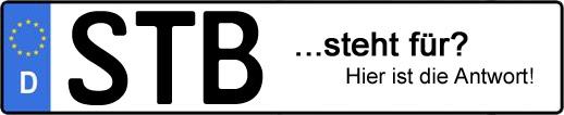 Wofür steht das Kfz-Kennzeichen STB? | Kfz-Kennzeichen - AUTOPURISTEN.net