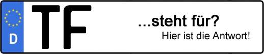 Wofür steht das Kfz-Kennzeichen TF? | Kfz-Kennzeichen - AUTOPURISTEN.net