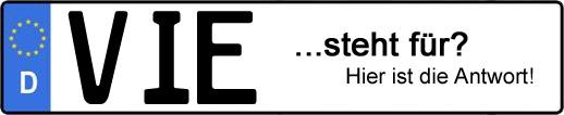 Wofür steht das Kfz-Kennzeichen VIE? | Kfz-Kennzeichen - AUTOPURISTEN.net
