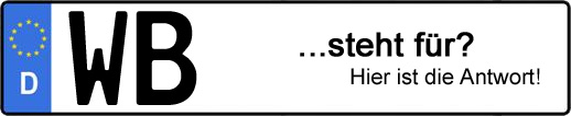 Wofür steht das Kfz-Kennzeichen WB? | Kfz-Kennzeichen - AUTOPURISTEN.net