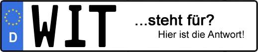 Wofür steht das Kfz-Kennzeichen WIT? | Kfz-Kennzeichen - AUTOPURISTEN.net