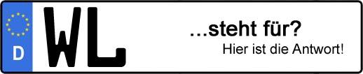 Wofür steht das Kfz-Kennzeichen WL? | Kfz-Kennzeichen - AUTOPURISTEN.net