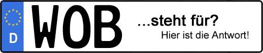 Wofür steht das Kfz-Kennzeichen WOB? | Kfz-Kennzeichen - AUTOPURISTEN.net