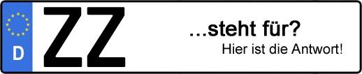 Wofür steht das Kfz-Kennzeichen ZZ? | Kfz-Kennzeichen - AUTOPURISTEN.net
